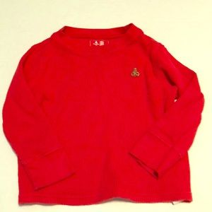 Gap Thermal teddy bear shirt 2T long sleeve 5/$25